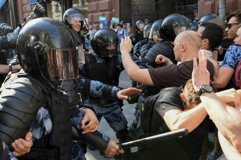 Navalny and his supporters organised a wave of protests over the summer