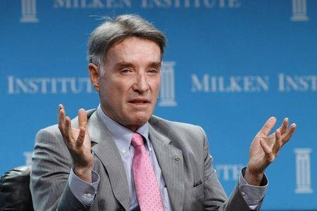 Batista, Chairman and CEO of EBX Group speaks at a dinner panel discussion at the Milken Institute Global Conference in Beverly Hills