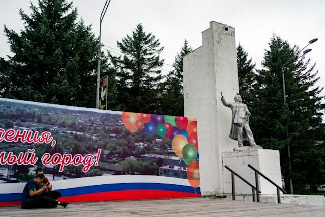 Russian ex-Gulag town on China's doorstep eyes rebirth