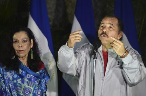 Nicaraguan President Daniel Ortega (R) has steadily exerted control over the government, the military and the judiciary, while ensuring the opposition has been rendered toothless