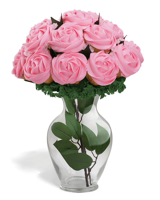 """<strong><h3>Buttercream Cupcake Bouquet</h3></strong><br>Surprise your Valentine with a delivery of ten fresh-baked buttercream roses nestled atop a bed of crisp kale. <br><br><strong>Baked Bouquet</strong> Pretty in Pink Cupcake Bouquet (6), $, available at <a href=""""https://go.skimresources.com/?id=30283X879131&url=https%3A%2F%2Fbakedbouquet.com%2Fproduct%2Fpretty-in-pink-1"""" rel=""""nofollow noopener"""" target=""""_blank"""" data-ylk=""""slk:Baked Bouquet"""" class=""""link rapid-noclick-resp"""">Baked Bouquet</a>"""