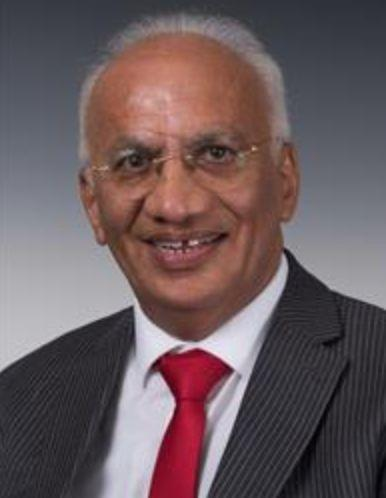Ratilal Govind, Leicester city councillor (Photo: Leicester City Council)
