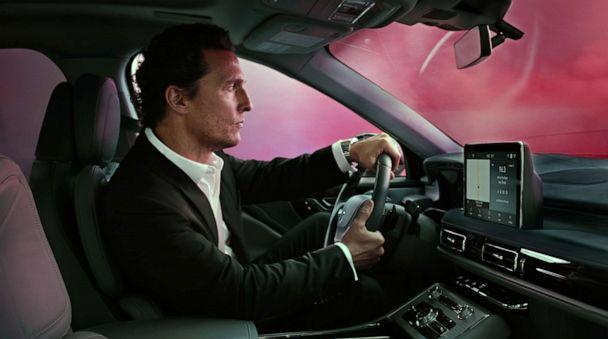 PHOTO: Matthew McConaughey has returned in a series of new ads for the Lincoln Aviator. (Lincoln Motor Co.)