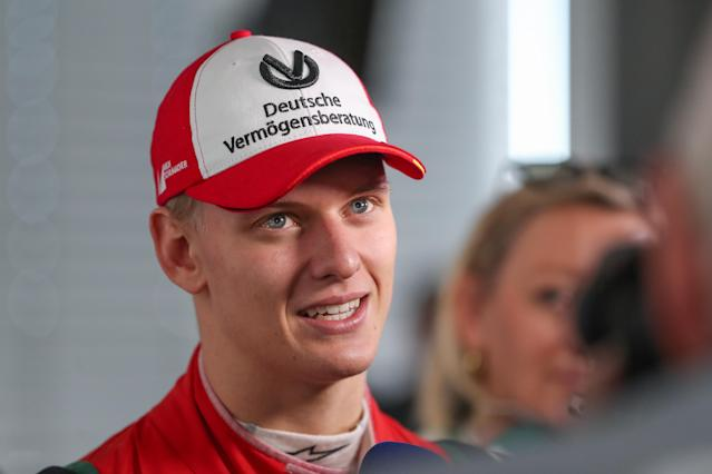 Mick Schumacher is set to make his Formula 1 test debut for Ferrari in Bahrain (Getty)