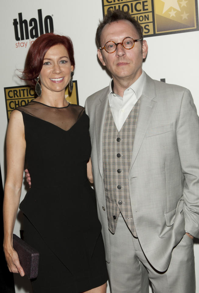 Carrie Preston and Michael Emerson attend the 2012 Critics' Choice Television Awards at The Beverly Hilton Hotel on June 18, 2012 in Beverly Hills, California.