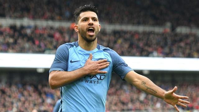 <p>When it comes to the striker role, there's no doubt that Sergio Aguero is the best that both clubs have to offer.</p> <br><p>Aguero's Manchester City career looked to be heading to an abrupt end when Gabriel Jesus was signed in January but since the Brazilian's injury, Aguero has stepped up and showed just why he is one of the best strikers in the business.</p> <br><p>The Argentine has scored seven goals in his last eight appearances and he also loves scoring against Liverpool so don't be surprised to see him on the scoresheet this weekend.</p>