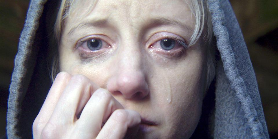 """Geordie actress Andrea Riseborough plays a Scouser in the """"Crocodile"""""""