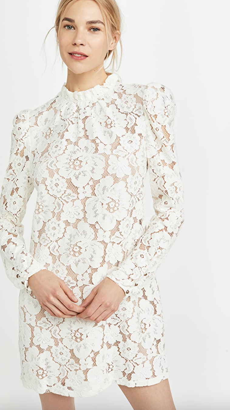 WAYF 'Emma' Puff Sleeve Dress (Photo via ShopBop)