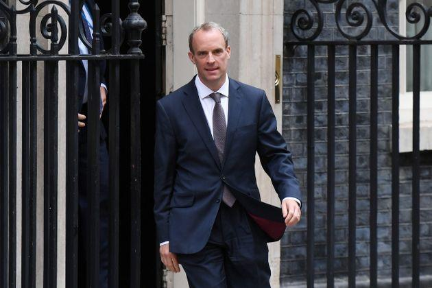 Dominic Raab has been strongly criticised for being on holiday as the Taliban advanced on Kabul last weekend. (Photo: Chris J Ratcliffe via Getty Images)