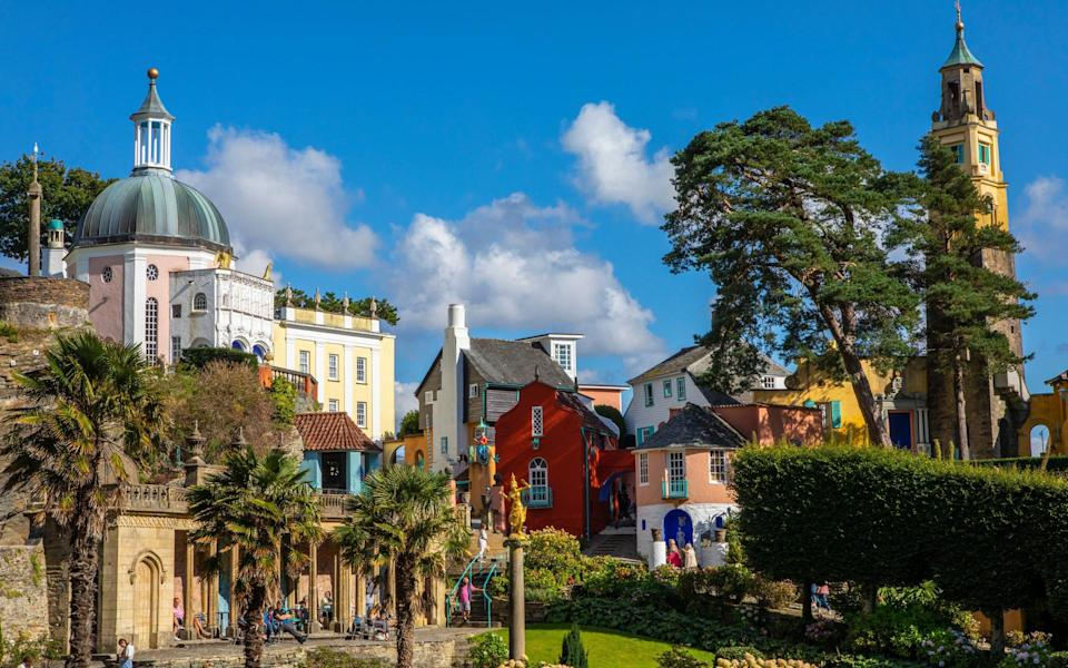 Portmeirion could provide your holiday fix later this year - Getty