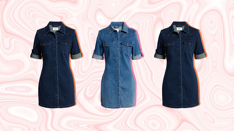 Um, We May Have Just Found the Perfect Denim Dress for Spring and Summer
