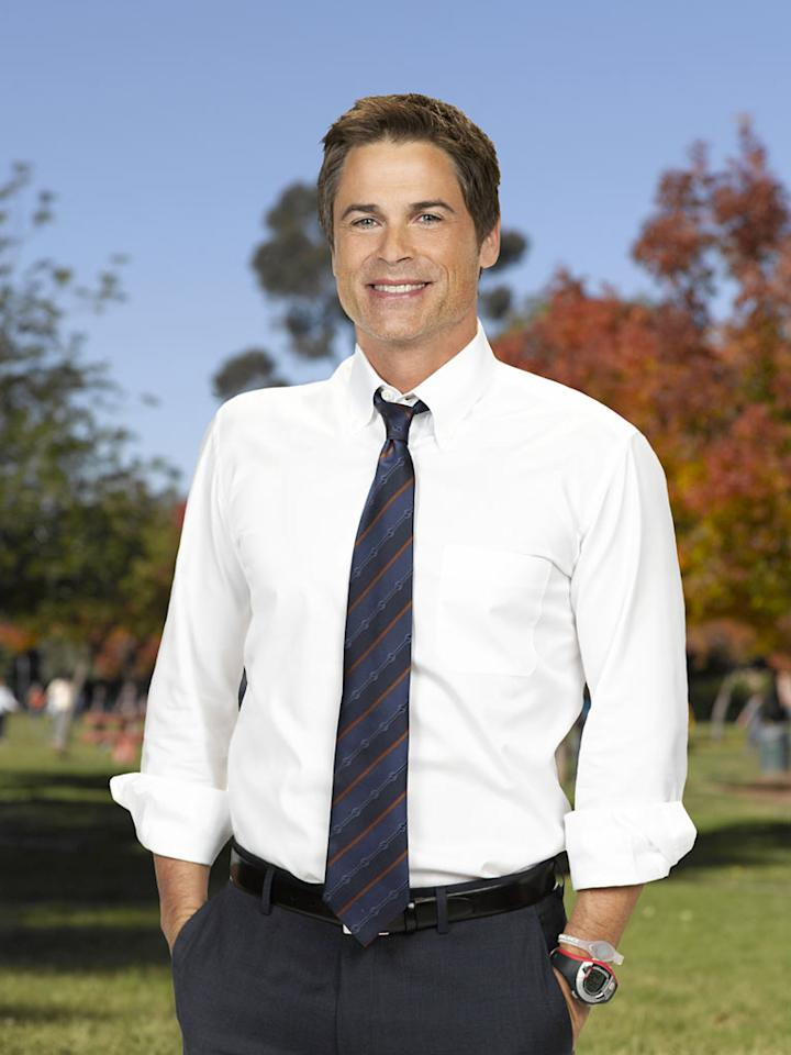 "Rob Lowe stars as Chris Traeger in ""Parks and Recreation."""
