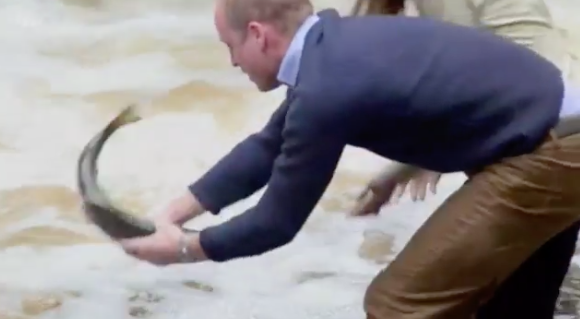 Wills gets in on the action as well. Photo: ITV