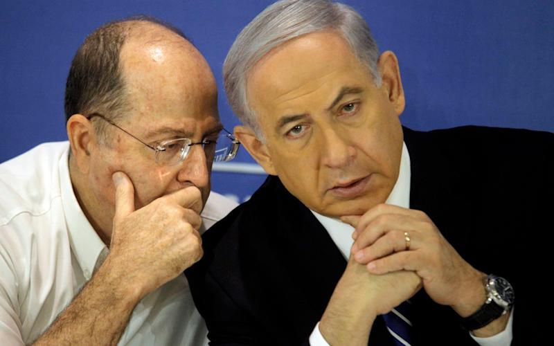 Yaalon - Credit: EPA/DANIEL BAR-ON