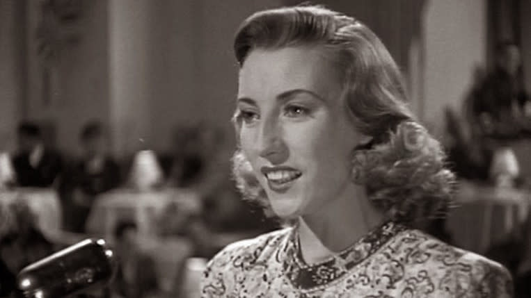 Dame Vera Lynn in 'We'll Meet Again'. (Credit: Columbia Pictures)