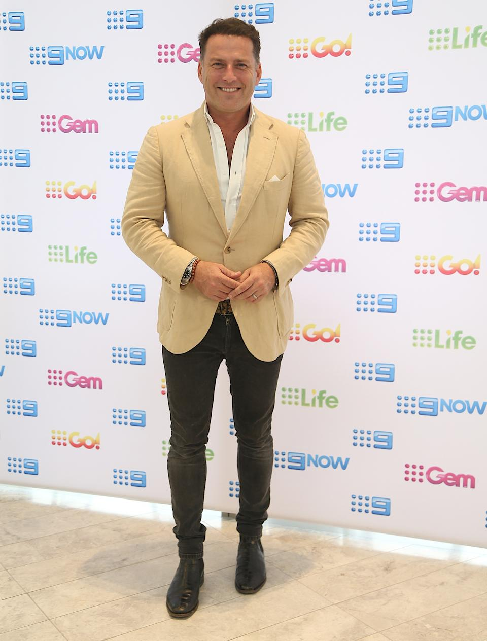 Karl Stefanovic attends Nine's post Logies Recovery Brunch at The Star Gold Coast on July 01, 2019 in Gold Coast, Australia