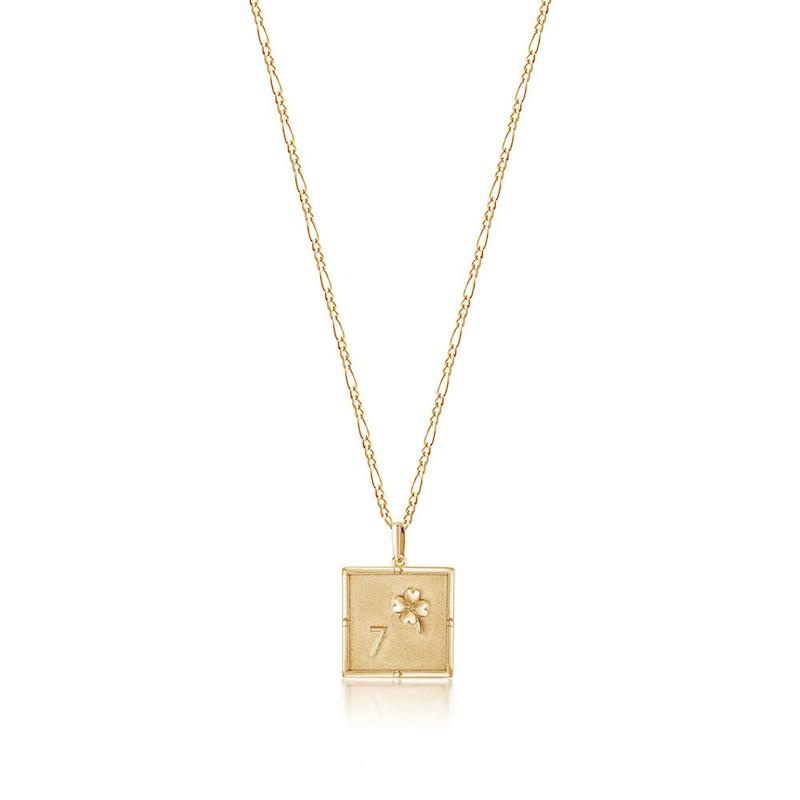 """The """"Kismet Charm Necklace"""" by Edge of Ember."""