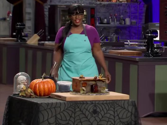 """Halloween Baking Championship"" is sometimes filmed during the summer. <p class=""copyright"">Food Network</p>"