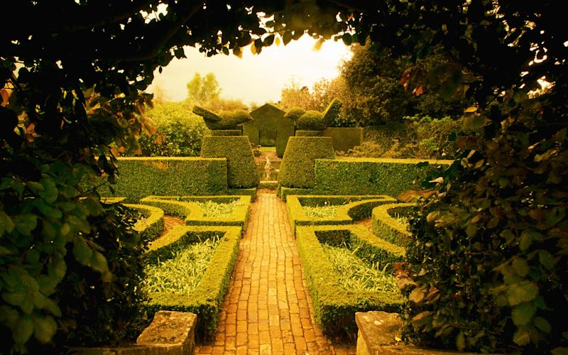 Hidcote Manor gardens, Gloucestershire - This content is subject to copyright.