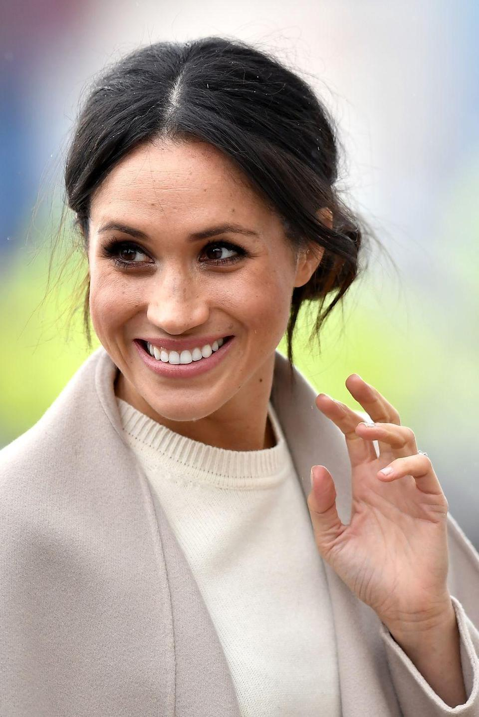"""<p><em>The Crown</em> is only set to run for six seasons, but it's later seasons are expected to delve into the modern members of the royal family—including the Duchess of Sussex, Meghan Markle. </p><p>The former actress apparently has a standing invitation to play herself on the drama, if she wants to come out of retirement for the role. </p><p>""""I want to see an episode where Trump comes to Buckingham Palace,"""" Left Bank creative director Suzanne Mackie <a href=""""https://variety.com/2018/tv/news/the-crown-season-3-donald-trump-megan-markle-1202725163/"""" rel=""""nofollow noopener"""" target=""""_blank"""" data-ylk=""""slk:said"""" class=""""link rapid-noclick-resp"""">said</a> of potential future episodes dealing with modern times. </p><p>As for Meghan Markle, Mackie said, """"She can play herself.""""</p>"""