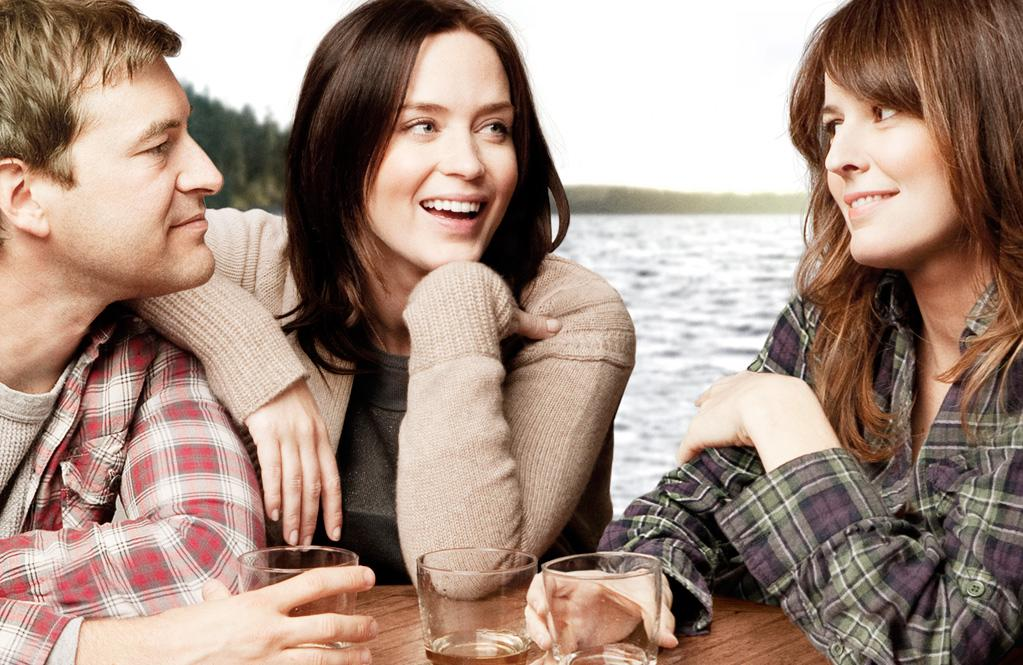 "Mark Duplass, Emily Blunt and Rosemarie DeWitt in IFC Films' ""Your Sister's Sister"" - 2012"