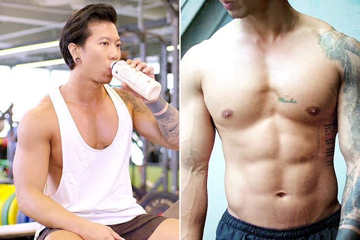 Fitness enthusiasts and bodybuilders enjoy the convenience of the chicken protein smoothies.