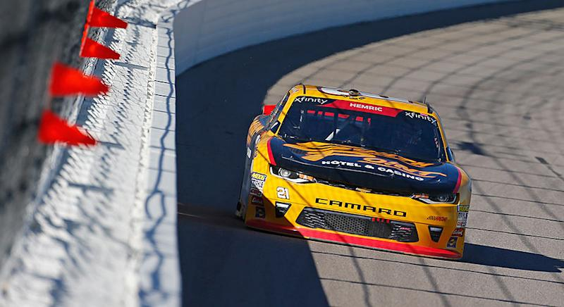 First lap Kansas crash has NASCAR Xfinity Series championship implications