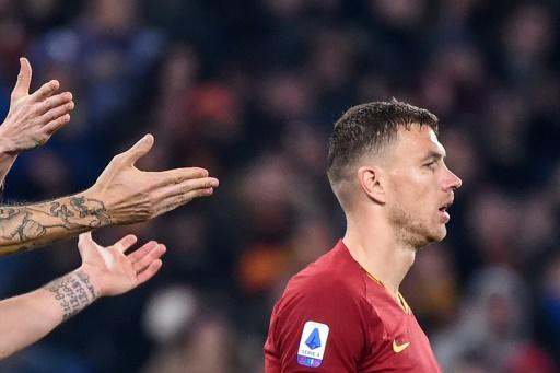 Dzeko hit his 100th Roma goal