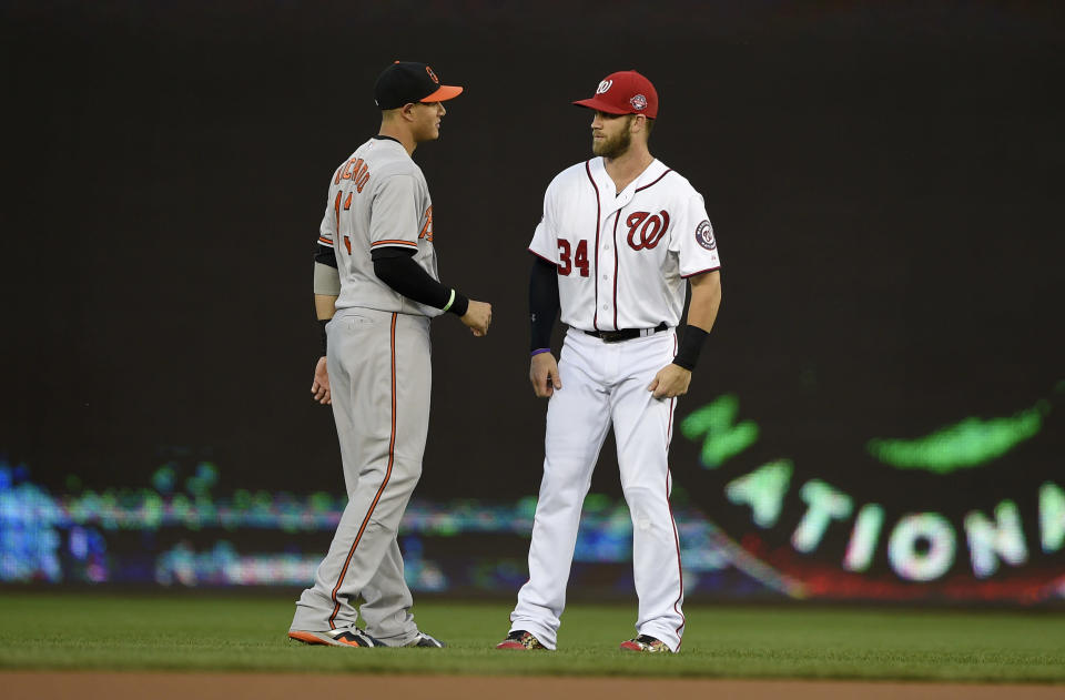 The markets for Bryce Harper and Manny Machado have consisted of just a handful of teams. (AP Photo/Nick Wass)