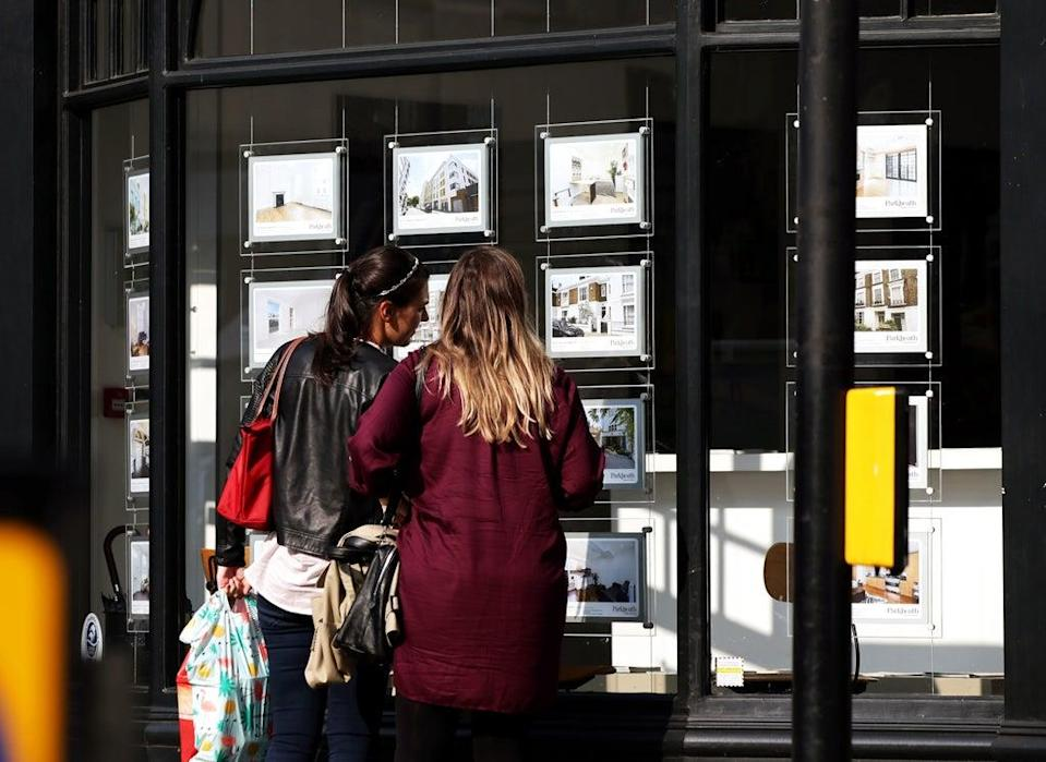 Nearly three in 10 property sales in August were to first-time buyers, according to Propertymark (Yui Mok/PA) (PA Archive)