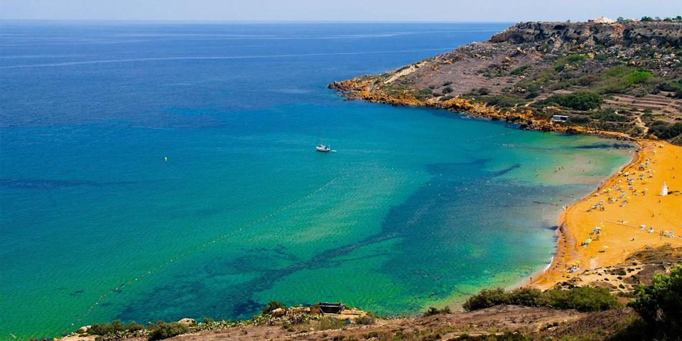 """<p>Malta, the tiny sun-drenched island chain in the Mediterranean, is home to Gozo, a sleepy island populated with farmers and fisherman. Top attractions include the <a href=""""https://go.redirectingat.com?id=74968X1596630&url=https%3A%2F%2Fwww.tripadvisor.com%2FShowUserReviews-g190314-d321111-r384551785-Ggantija_Megalithic_Temples-Ggantija_Island_of_Gozo.html&sref=https%3A%2F%2Fwww.redbookmag.com%2Flife%2Fg36983737%2Fmost-beautiful-islands-in-the-world%2F"""" rel=""""nofollow noopener"""" target=""""_blank"""" data-ylk=""""slk:Ggantija temple ruins"""" class=""""link rapid-noclick-resp"""">Ggantija temple ruins</a> and the crescent-shaped red-sand beach at <a href=""""https://go.redirectingat.com?id=74968X1596630&url=https%3A%2F%2Fwww.tripadvisor.com%2FAttraction_Review-g190318-d3533144-Reviews-Ramla_Bay-Xaghra_Island_of_Gozo.html&sref=https%3A%2F%2Fwww.redbookmag.com%2Flife%2Fg36983737%2Fmost-beautiful-islands-in-the-world%2F"""" rel=""""nofollow noopener"""" target=""""_blank"""" data-ylk=""""slk:Ramla Bay"""" class=""""link rapid-noclick-resp"""">Ramla Bay</a> on the northern coast. </p>"""