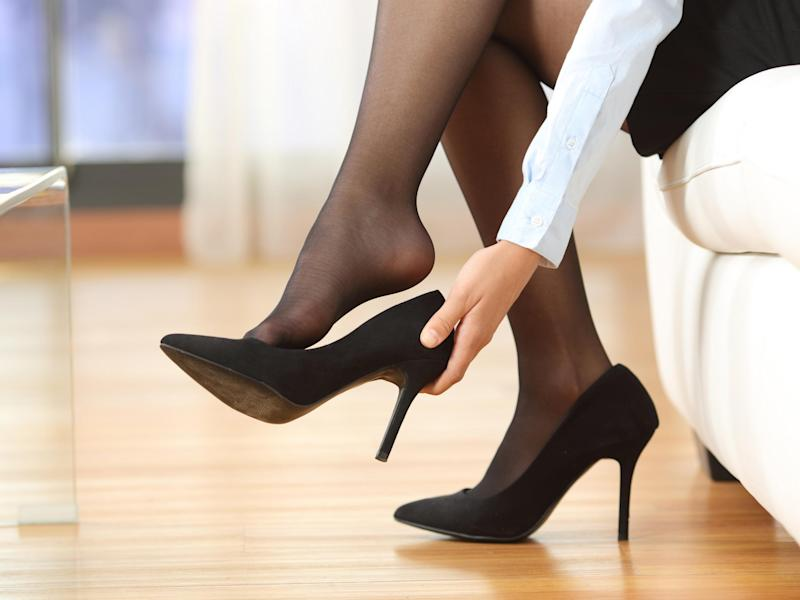 Should bosses be allowed to make female employees wear high heels?: Getty Images / iStock