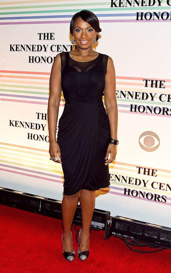 """A svelte Jennifer Hudson was among the many performers at Sunday's Kennedy Center Honors in Washington D.C. The """"Dreamgirls"""" star paid tribute to one of the night's honorees, Oprah Winfrey, by singing a selection from the Broadway musical """"The Color Purple,"""" which Winfrey produced. Paul Morigi/<a href=""""http://www.wireimage.com"""" target=""""new"""">WireImage.com</a> - December 5, 2010"""