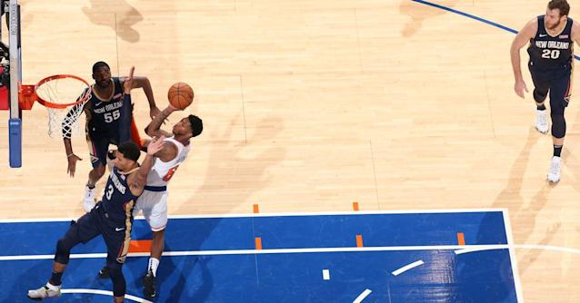 """New Orleans Pelicans 117, New York Knicks 116: """"Almost"""""""