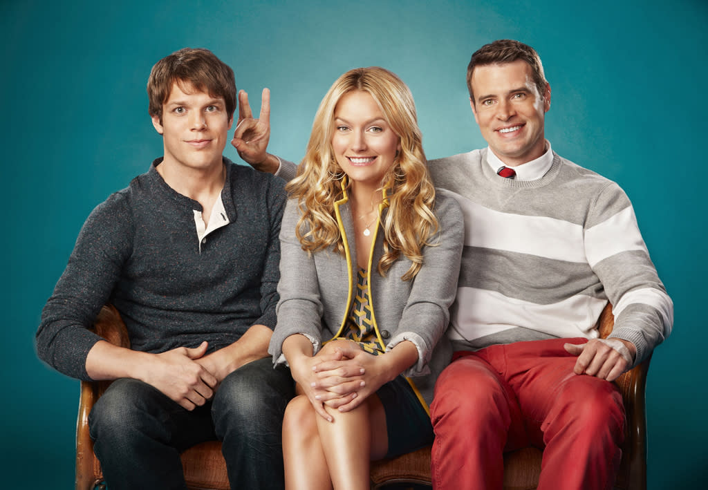 "<b>""The Goodwin Games""</b> <b>(Midseason Comedy)</b><br><br>""The Goodwin Games,"" the inventive new comedy from the executive producers of ""How I Met Your Mother,"" Carter Bays, Craig Thomas, and Chris Harris, is slated for midseason. Starring Scott Foley (""Grey's Anatomy,"" ""Felicity""), Becki Newton (""Ugly Betty""), and Jake Lacy (""Better With You""), the family comedy tells the story of three estranged siblings who return home after the loss of their beloved father (guest star Beau Bridges, ""The Descendants""), and unexpectedly find themselves poised to inherit more than $20 million -- if, and only if, they can adhere to their late father's trivial wishes."