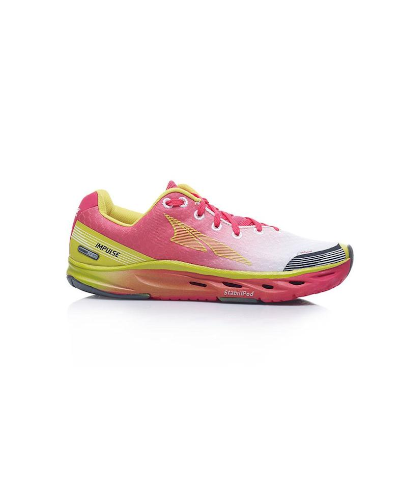 """<p><strong>Altra Impulse</strong><br /> Made with long-distance runners in mind, these ultra-lightweight sneakers have a specialized sole to keep impact low and gently correct pronation (they're also ideal for <a href=""""https://www.realsimple.com/health/fitness-exercise/workouts/workout-sneakers"""" target=""""_blank"""">cross-training</a>, trail running, and, well, everyday life). Available in two colors.</p> <p><strong>To buy:</strong> From $75, <a href=""""https://www.amazon.com/Altra-Womens-Impulse-Running-Shoe/dp/B00U2GIIEC"""" target=""""_blank"""">amazon.com</a>.</p>"""