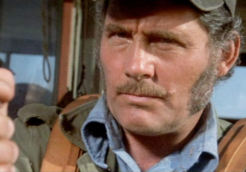 Robert Shaw in Jaws (Credit: Universal)