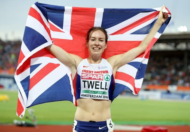 Twell will take part in the 2.6 Challenge this weekend (Martin Rickett/PA)