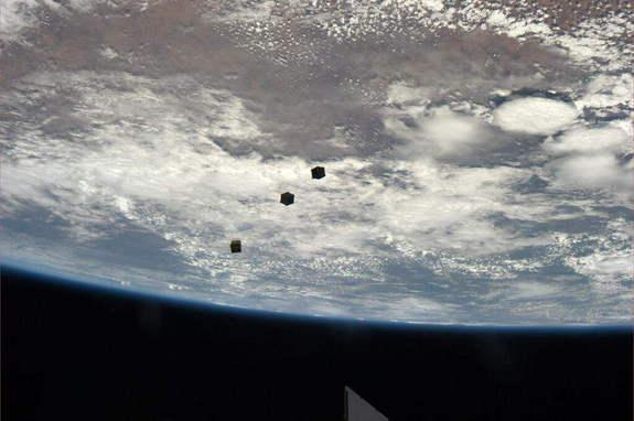 Record-Breaking 33 'Cubesats' to Launch from Space Station This Month