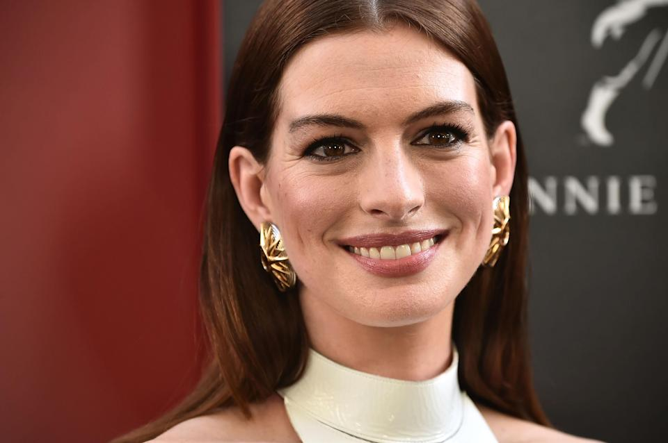 Anne Hathaway paid tribute to the late Nia Wilson on social media. (Photo: Theo Wargo/FilmMagic)