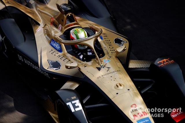 "Antonio Felix da Costa, DS Techeetah, DS E-Tense FE20 <span class=""copyright"">Joe Portlock / Motorsport Images</span>"