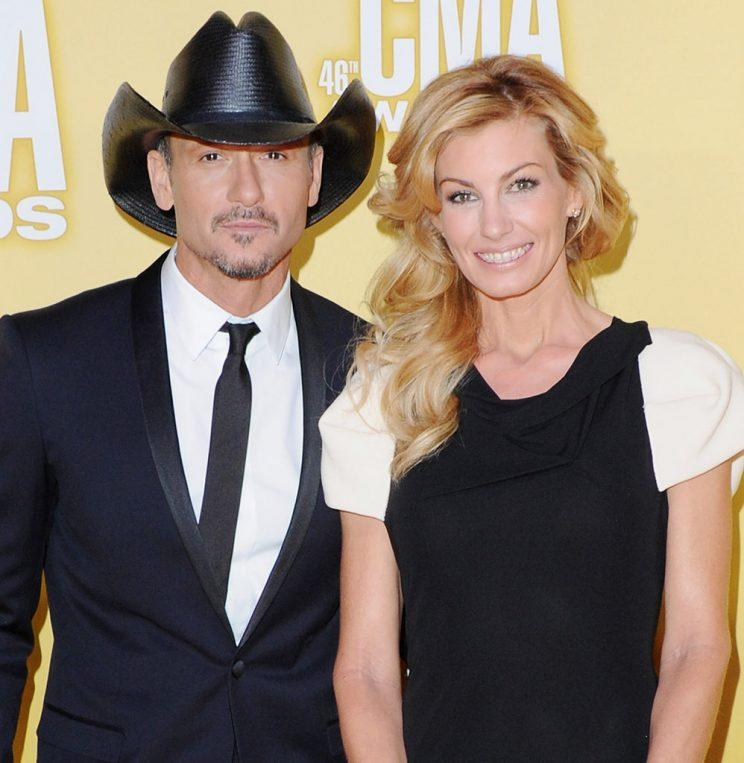 f2870e371 Faith Hill and Tim McGraw Continue to Give Us #RelationshipGoals