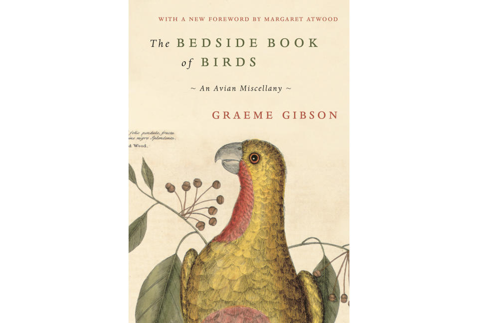 "This cover image released by Doubleday shows ""The Bedside Book of Birds: An Avian Miscellany,"" an illustrated compilation of folktales, poems, fiction and nonfiction by Graeme Gibson. (Doubleday via AP)"