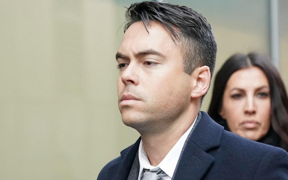 Bruno pleaded guilty to two counts of sexual assault yesterday. Copyright: [Getty]