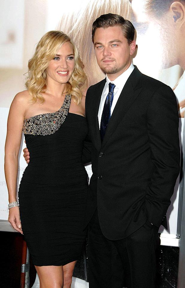 "12 years after setting sail in ""Titanic,"" Kate Winslet and Leonardo DiCaprio's friendship remains unsinkable. Scott Kirkland/<a href=""http://www.infdaily.com"" target=""new"">INFDaily.com</a> - December 15, 2008"