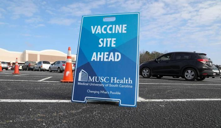 A mobile vaccination clinic in Barnwell, S.C. provided around 400 Coronavirus vaccines to people who preregistered for the event.