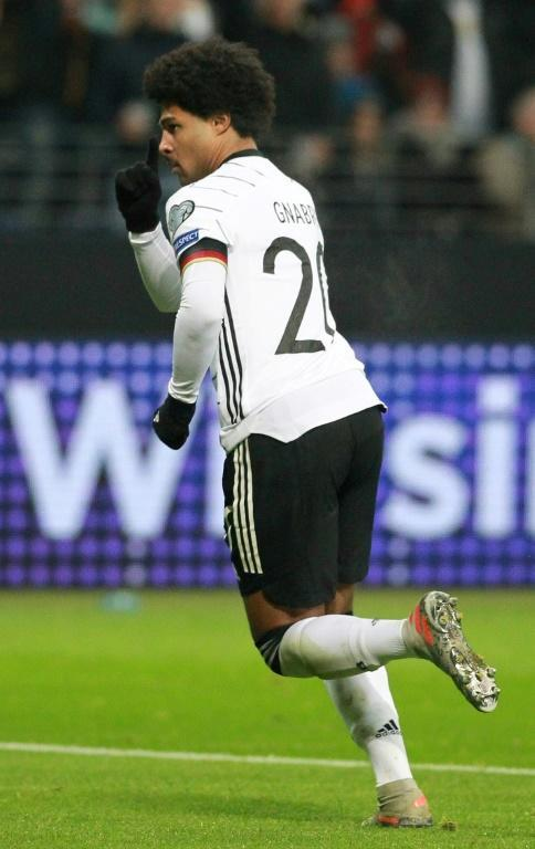 Serge Gnabry has score 13 times in as many Germany matches (AFP Photo/Daniel ROLAND)