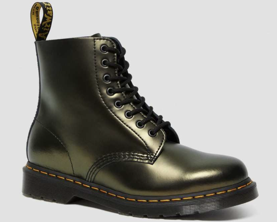 Dr Martens Pascal Chroma Metallic Leather Boots