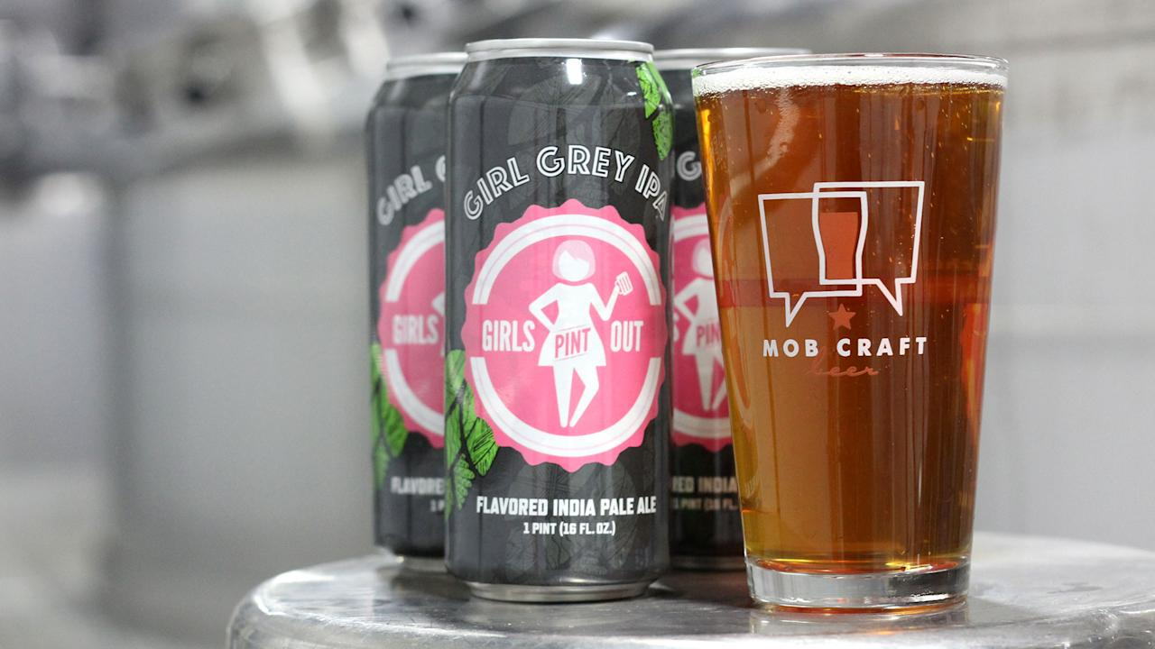 """<p>Setting out to combine two of her favorite things - Earl Grey tea and craft beer - home brewer Larissa Hanpeter created <a rel=""""nofollow"""" href=""""https://www.mobcraftbeer.com/recipes/girl-grey-ipa"""">Girl Grey IPA</a>. After winning a contest sponsored by the national women's craft beer organization Girls Pint Out, Hanpeter joined Milwaukee, Wisconsin's <a rel=""""nofollow"""" href=""""https://www.mobcraftbeer.com"""">MobCraft</a> in brewing and canning her recipe. """"In some ways, the process for making each is pretty similar. Both are brewed. They can be refreshing or bitter, or both,"""" Hanpeter says. She opted for a mild blend of dry hops that would pair well with the Earl Grey tea leaves, instead of overpowering them. The result is a refreshing, floral-herbal brew that could easily replace your afternoon (or morning) cup of tea. </p>"""