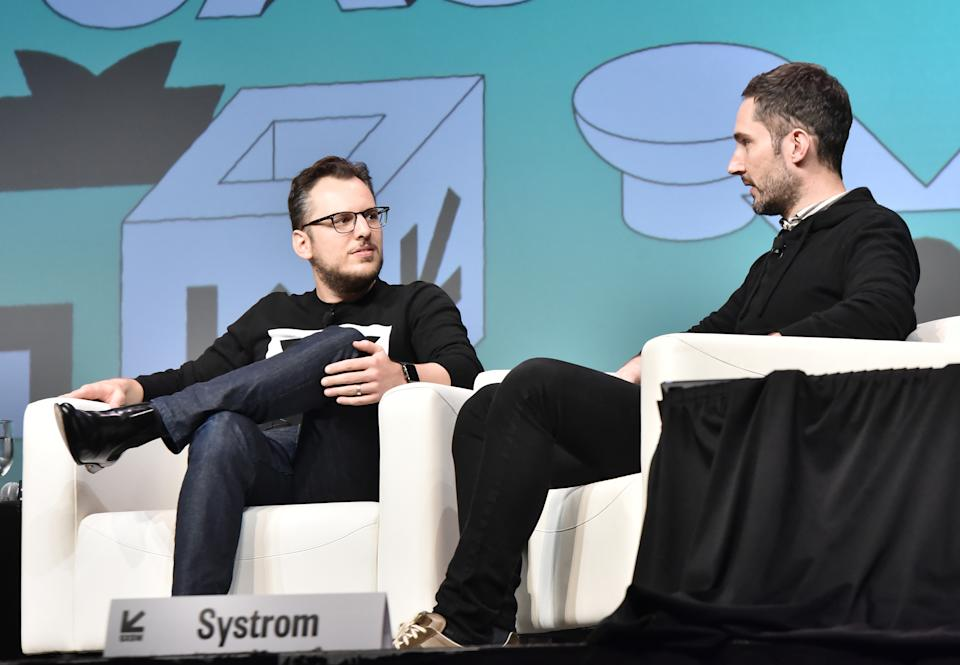 Mike Krieger et Kevin Systrom